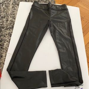 David Lerner | vegan leather leggings size small